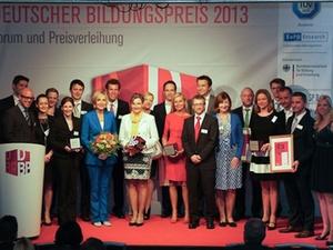 Preisverleihung: Deutscher Bildungspreis 2013