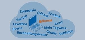 Online-Buchhaltung Mandant und Steuerberater: Billomat