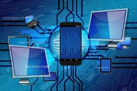 Binärcodes Smartphones Laptops