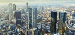 Büromieten: Frankfurt entwickelt sich am dynamischsten