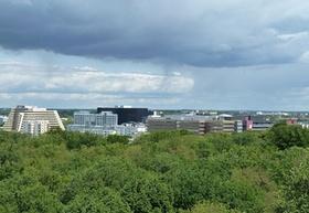 Blick auf Hamburg City-Nord