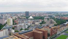 Blick Richtung Tempelhof Berlin