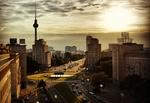 Blick über Berlin_Abendsonne