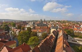 Blick über die Dächer Erfurts
