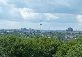 Blick über St. Pauli