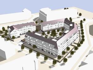 Projekt: 124 geförderte Wohnungen in Darmstadt