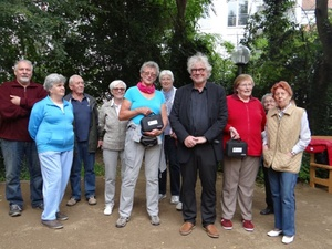 CSR: Bouleplatz für Senioren in Darmstadt gesponsert