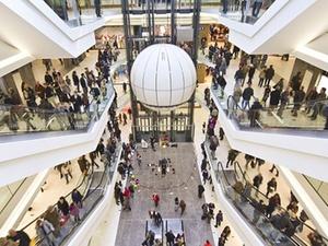 Einkaufszentren die meistgehandelten Handelsimmobilien
