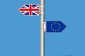 Brexit Großbritannien EU Flagge