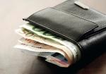 Brieftasche mit Euroscheinen