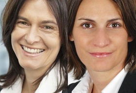 Brigitte Hirl-Höfer und Elke Frank