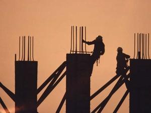 Klirrende Kälte: Baustellen im Winter