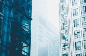 Bürofassaden modern