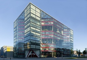 Buerohochhaus Doppel-XX in Hamburg: Architektur, 20. Jahrhundert, Niedrigenergie.- Architekten: BRT