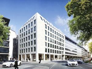 """Projekt: Baustart für Bürohaus """"MAXIII"""" in München"""