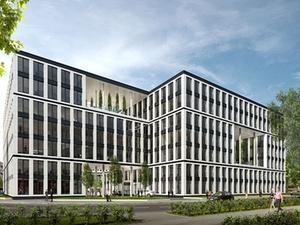 Hansainvest realisiert Bürogebäude in der Hamburger City Nord