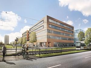 """Strabag Real Estate entwickelt Bürogebäude """"üeins"""" in Bremen"""