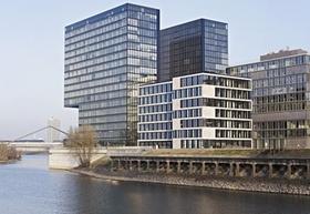 Bürohaus Hafenspitze Düsseldorfer Medienhafen