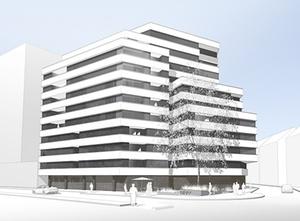 Meag baut Bürogebäude in Frankfurt um