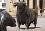 Bulle vor Frankfurter Börse
