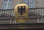 Bundesfinanzhof Schild