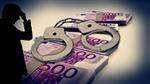 Bußgeld - Handschellen, Geldscheine, Silhouette - pixabay