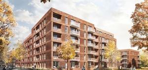 Projekt: Hamburg-Barmbek: BVE baut 160 geförderte Wohnungen