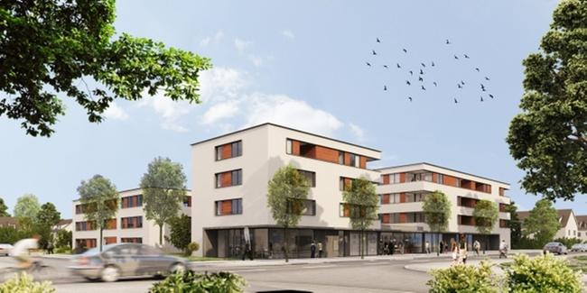 projekt mehrgenerationenwohnen in freiburg immobilien haufe. Black Bedroom Furniture Sets. Home Design Ideas