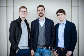 Casavi Gründer David Langer, Peter Schindlmeier, Oliver Stamm