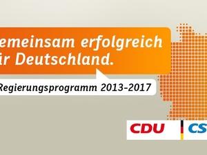 Sozialpolitik: Wahlprogramm CDU und CSU