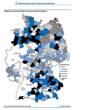 Infografik - Frühjahrsgutachten: Chancen für Wohninvestments in ländlichen Regionen