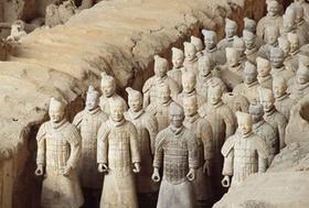 chinesische Terrakotta-Armee
