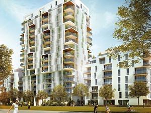 Baubeginn für Ciel et Terre in Düsseldorf