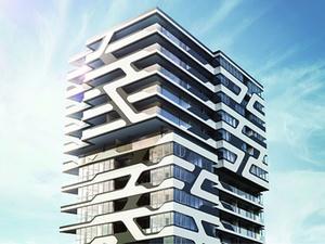 Stuttgarter Hotel Und Wohnturm Cloud No 7 Nimmt Form An