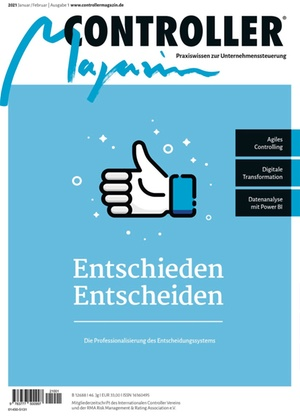 Controller Magazin Ausgabe 1/2021 | Controller Magazin