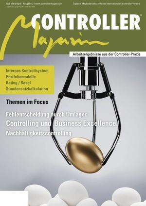 Controller Magazin Ausgabe 2/2013 | Controller Magazin