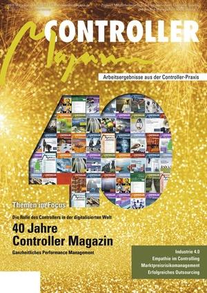 Controller Magazin 4/2015 40 Jahre | Controller Magazin