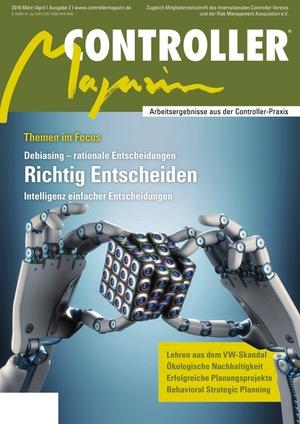 Controller Magazin Ausgabe März/April 2016 | Controller Magazin