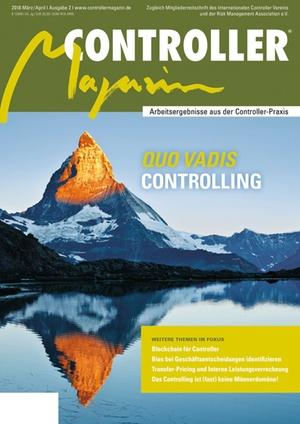 Controller Magazin Ausgabe 2/2018 | Controller Magazin