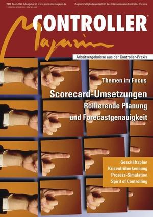 Controller Magazin Ausgabe 5/2010 | Controller Magazin