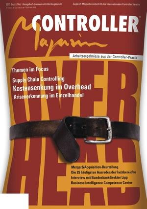 Controller Magazin Ausgabe 5/2013 | Controller Magazin