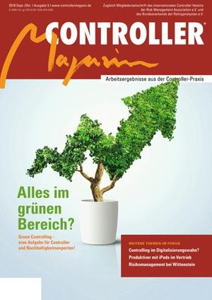 Controller Magazin Ausgabe 5/2018 | Controller Magazin