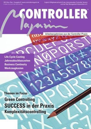 Controller Magazin Ausgabe 6/2013 | Controller Magazin