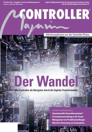 Controller Magazin Ausgabe 6/2016 | Controller Magazin