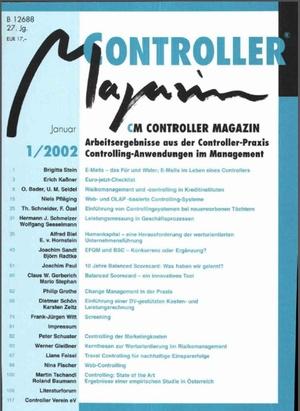 Controller Magazin Ausgabe 1/2002   Controller Magazin
