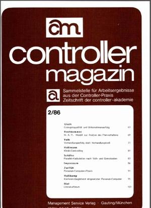 Controller Magazin Ausgabe 2/1986 | Controller Magazin