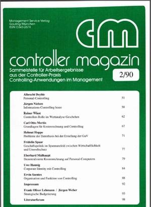 Controller Magazin Ausgabe 02/1990 | Controller Magazin