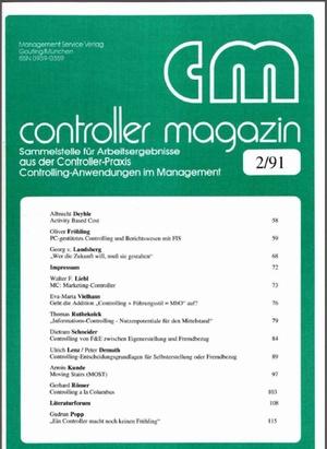 Controller Magazin Ausgabe 02/1991 | Controller Magazin