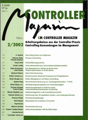 Controller Magazin Ausgabe2/2002 | Controller Magazin