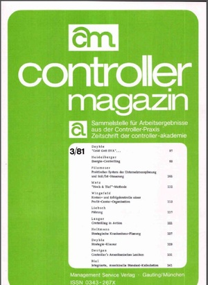 Controller Magazin Ausgabe 3/1981 | Controller Magazin